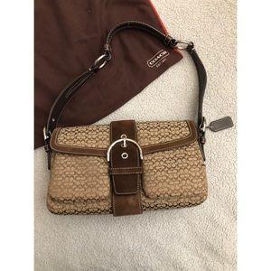 Coach Women's Soho Mini Signature Buckle Bag